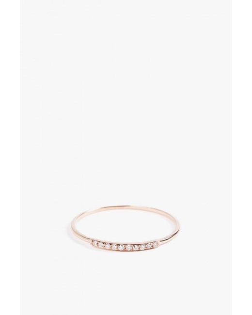 Gabriela Artigas | Pink Mini Axis Ring | Lyst