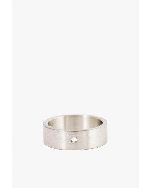 Marmol Radziner | White Lighweight Solid Standard Ring | Lyst