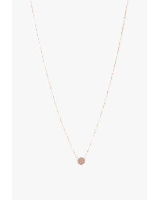Hortense | Metallic Moon Necklace | Lyst
