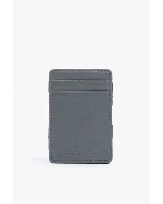 Status Anxiety - Gray Flip Wallet for Men - Lyst
