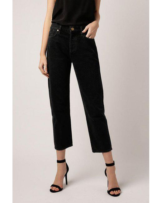 Goldsign - Black Low Slung Jean - Lyst