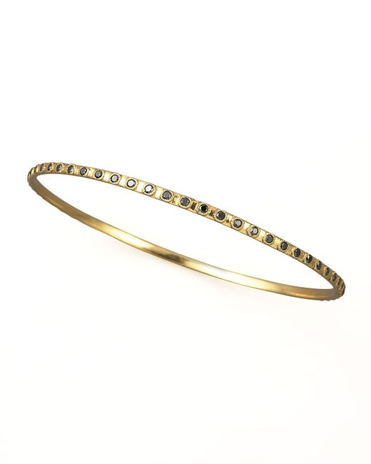 Armenta | Metallic Eternity Black Diamond Bangle | Lyst