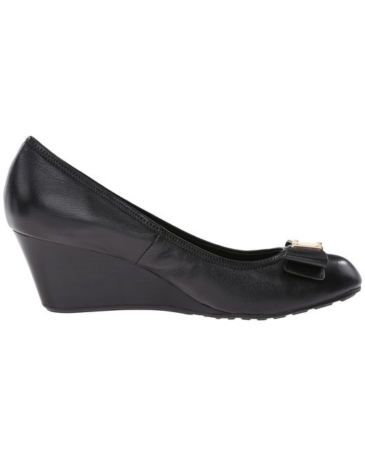 Cole Haan   Black Tali Grand Bow Wedge 65   Lyst