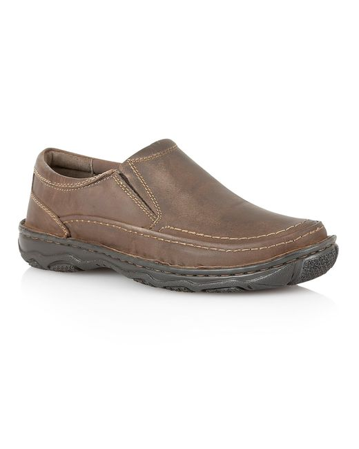Lotus | Brown Slip On Casual Loafers for Men | Lyst