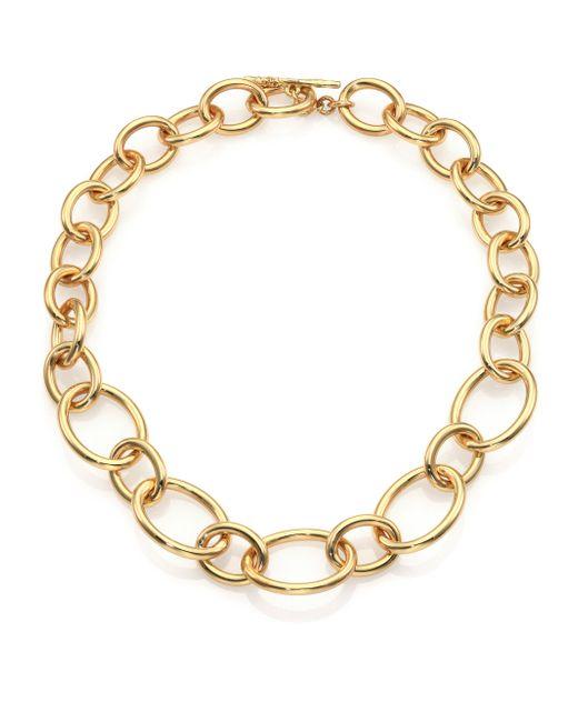 Ippolita | Metallic Glamazon 18k Yellow Gold Large Link Necklace | Lyst