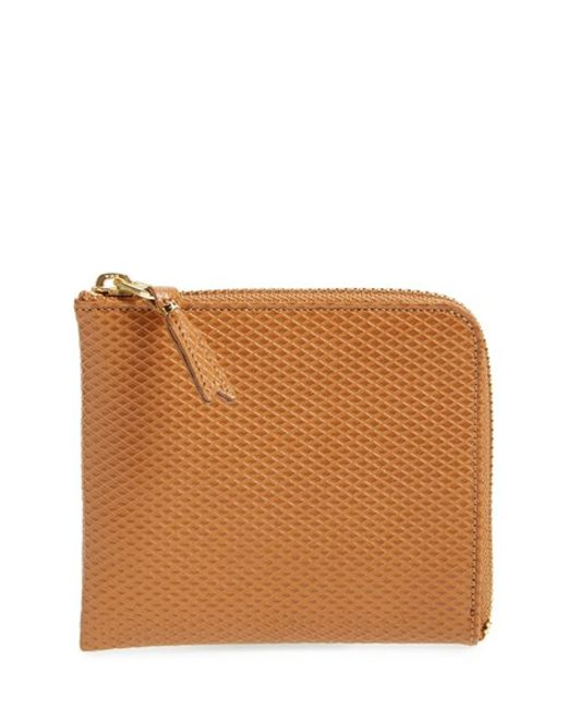 Comme des Garçons | Natural Half Zip French Wallet for Men | Lyst
