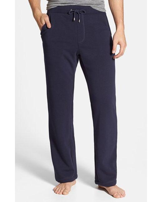 UGG | Red Ugg 'colton' Lounge Pants for Men | Lyst