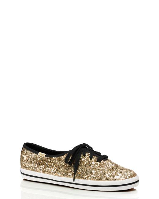 kate spade new york | Metallic Keds For Glitter Sneakers | Lyst