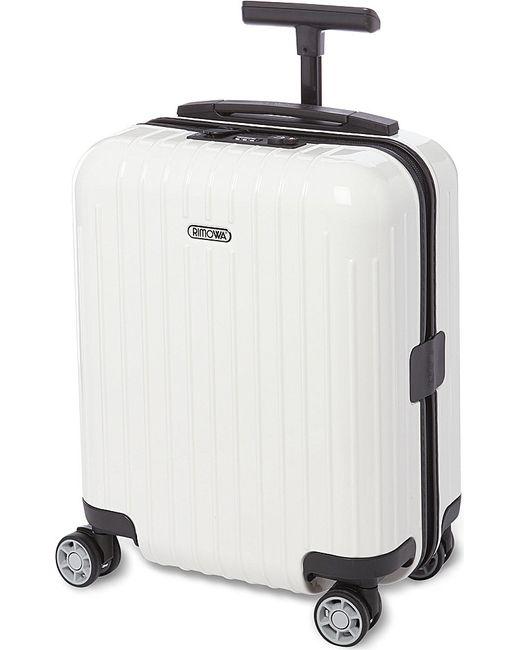 Rimowa | White Salsa Air Four-wheel Mini Suitcase 43cm for Men | Lyst