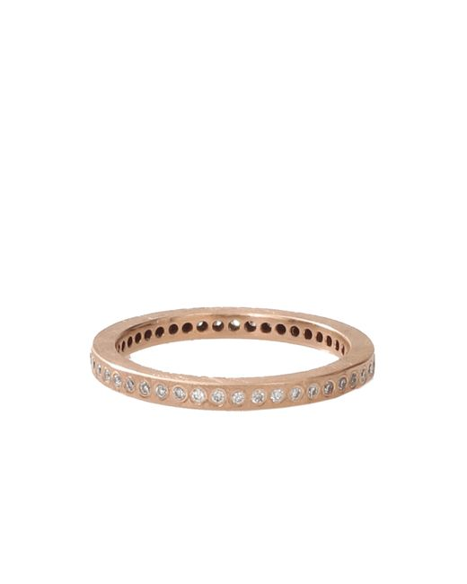 Todd Reed | Metallic Flush Set White Diamond Eternity Ring | Lyst