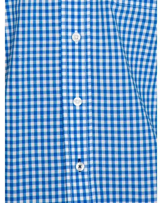 Raging Bull | Blue Signature Gingham Long Sleeve Button Down Shirt for Men | Lyst
