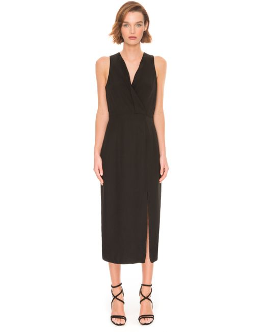 C meo collective bedroom wall short sleeve dress in black for C meo bedroom wall dress