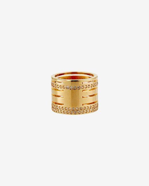 Vita Fede | Metallic Crystal Pila Band Ring: Gold | Lyst