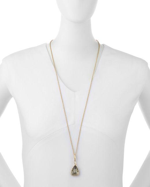 Ippolita | Metallic 18k 3-stone Hessanite Garnet Ring | Lyst
