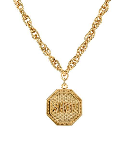 Moschino | Metallic Statement Necklace - Gold | Lyst