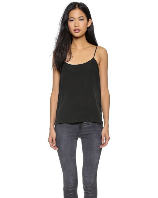 Equipment | Black Cara Top | Lyst