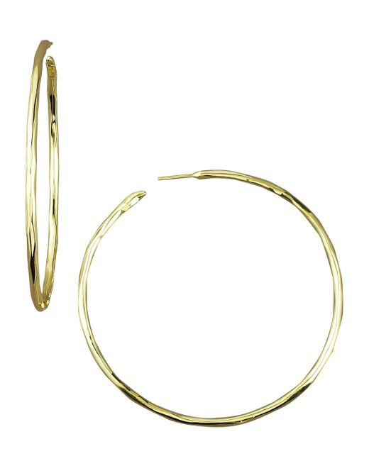 Ippolita | Metallic Thin Glamazon Hoop Earrings, Medium | Lyst