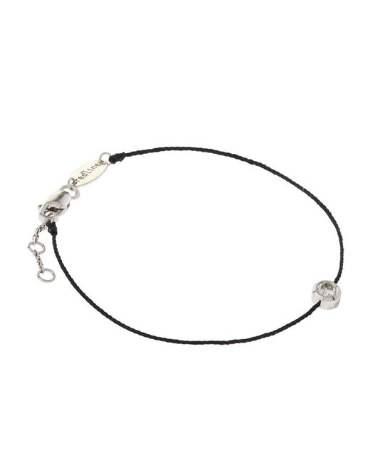 RedLine | Black So Pure Diamond Bracelet | Lyst