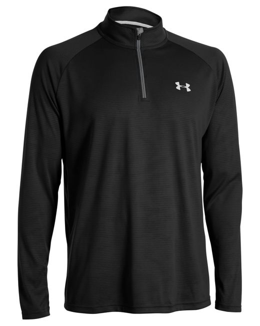 Under Armour | Black Tech 1/4-zip Shirt for Men | Lyst