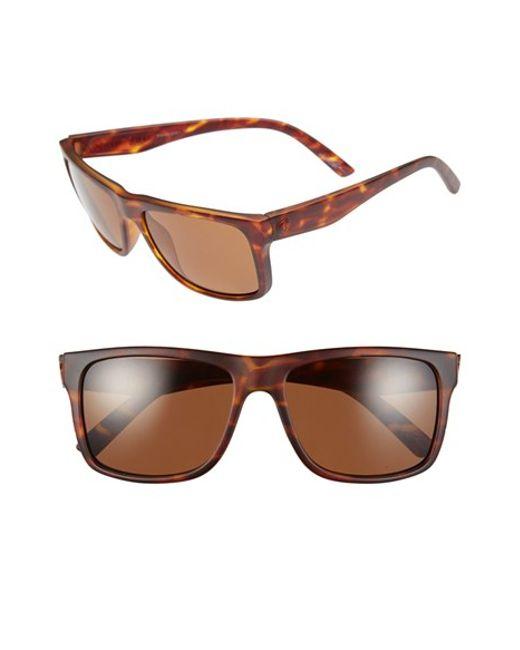 Electric | Brown 'swimgarm' 57mm Polarized Sunglasses | Lyst