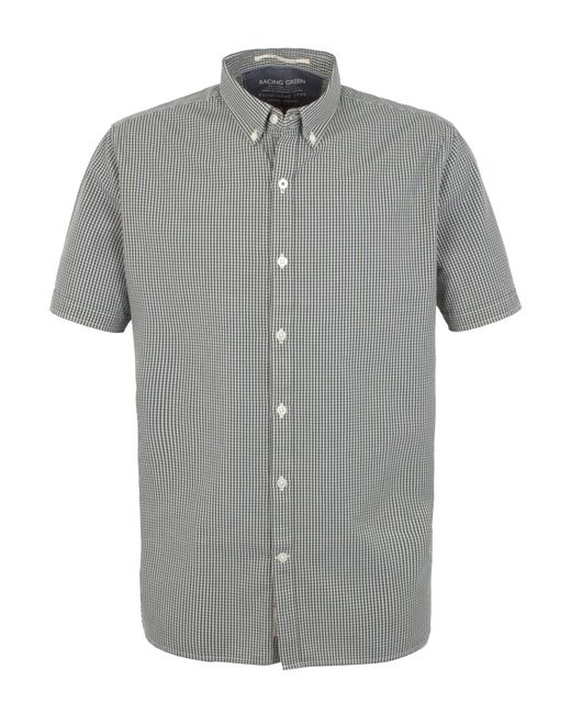 Racing Green | Gray Cologne Short Sleeve Shirt for Men | Lyst