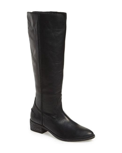 Frye | Black 'ray Seam' Tall Boot | Lyst
