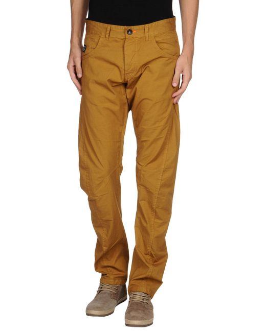 jack jones casual trouser in beige for men camel. Black Bedroom Furniture Sets. Home Design Ideas