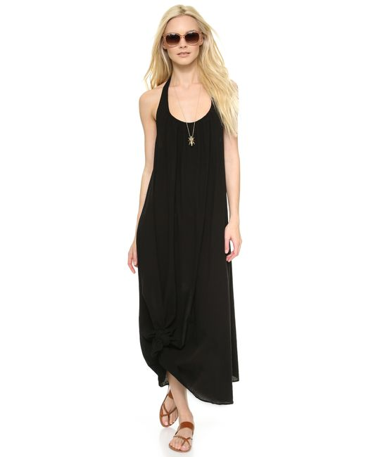 9seed | Black Antigua Cover Up Dress | Lyst