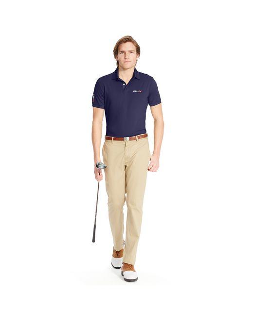 Ralph Lauren | Blue Tailored-fit Lightweight Polo for Men | Lyst