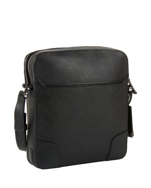 Tumi   Black Astor Leather Cross-Body Bag   Lyst