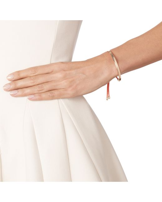 Monica Vinader | Pink Fiji Friendship Bracelet | Lyst
