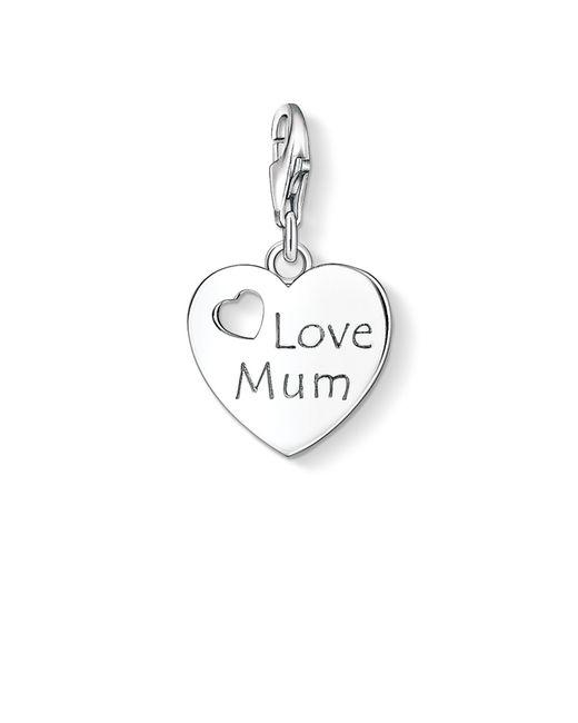 Thomas Sabo | Metallic Charm Club Love Mum Pendant | Lyst