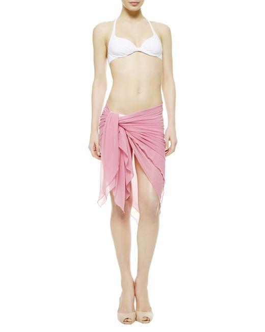 La Perla   Pink Beach Wrap   Lyst