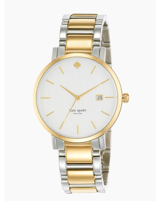 Kate Spade | White Holland Skinny Bracelet Watch | Lyst