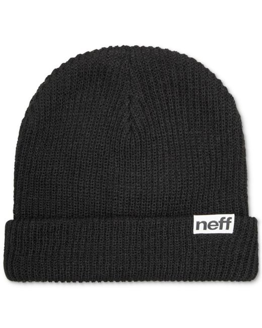 Neff | Black Daily Fold Knit Hat for Men | Lyst
