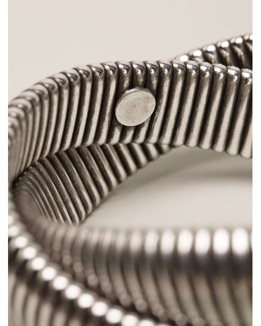 Janis Savitt | Metallic Twist 'cobra' Bracelet | Lyst
