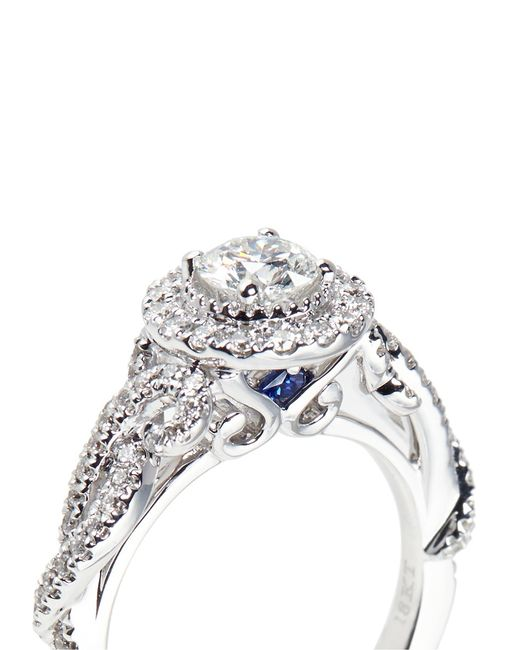 Vera Wang Love East Meets West Diamond And White Gold