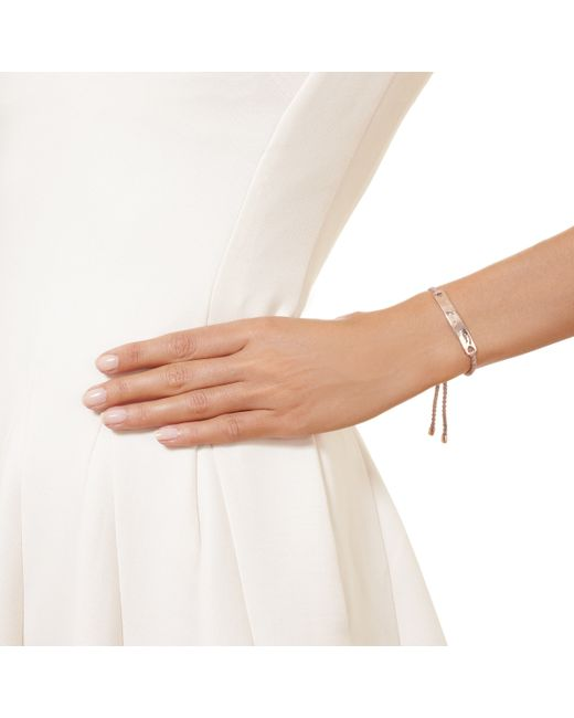 Monica Vinader | Pink Havana Friendship Bracelet | Lyst