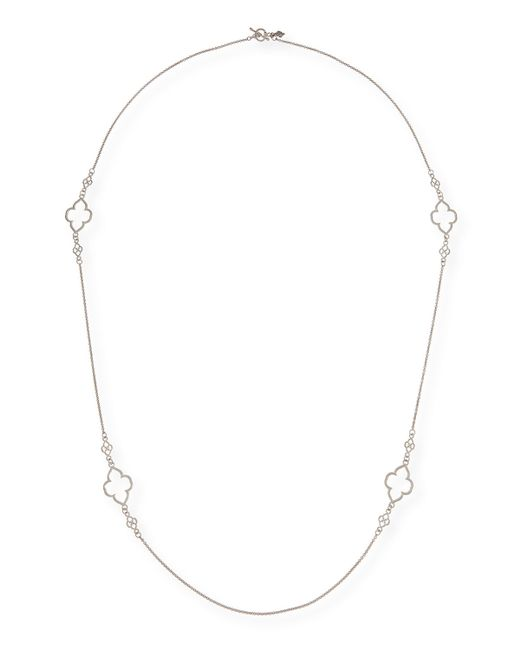 Armenta | Metallic New World Scroll Station Necklace | Lyst