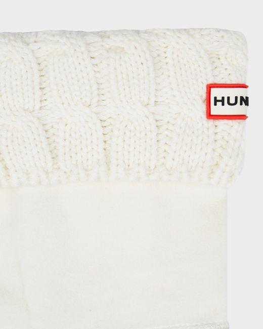 Hunter | White Original Six-stitch Cable Short Boot Socks | Lyst