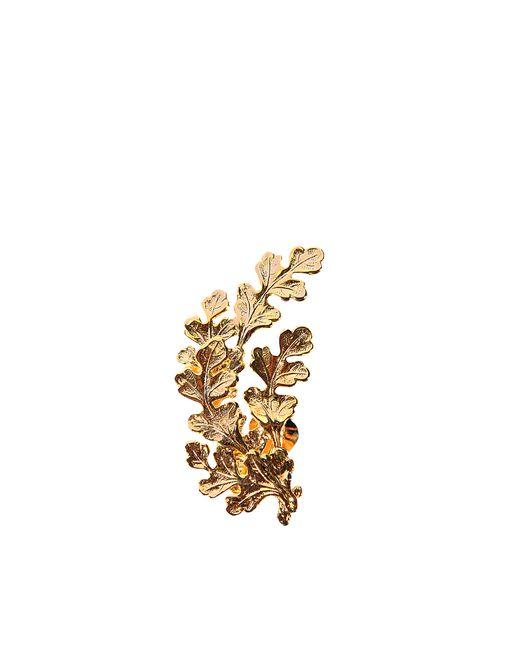 Joanna Laura Constantine | Metallic Leaves Earrings | Lyst