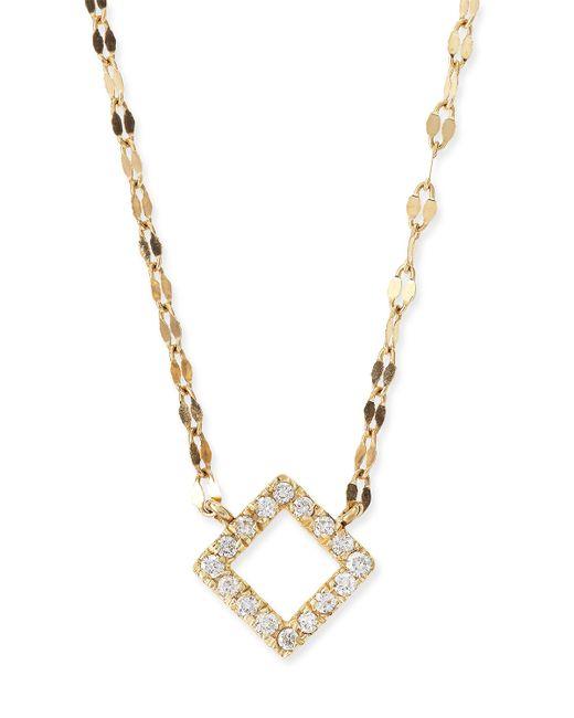 Lana Jewelry | Metallic Diamond Pendant Necklace | Lyst