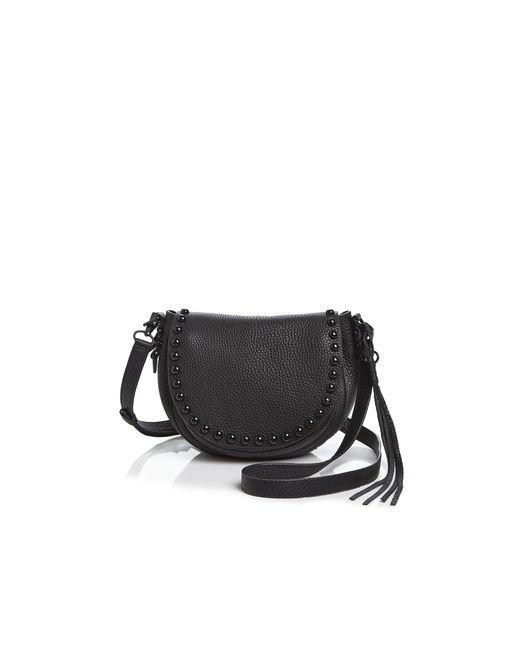 Rebecca Minkoff | Black Unlined Saddle Bag | Lyst