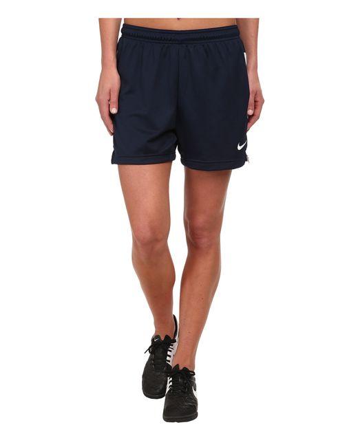 Nike | Blue Dri-fit™ Academy Knit Shorts | Lyst