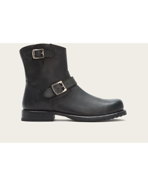 Frye | Black Wayde Engineer Inside Zip for Men | Lyst