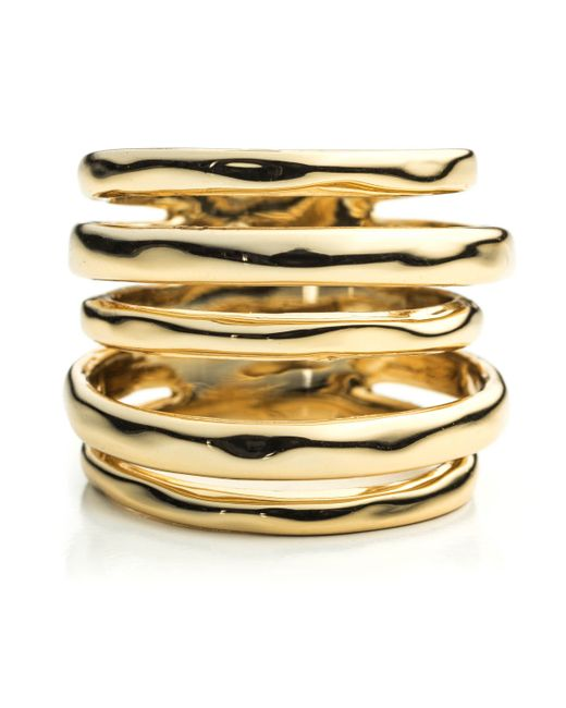 Alexis Bittar | Metallic Liquid Gold Layered Ring You Might Also Like | Lyst