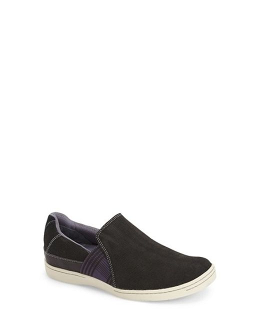 Ahnu | Black 'precita' Slip-on Sneaker | Lyst