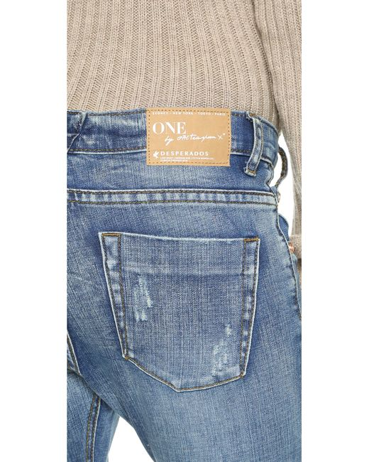 One Teaspoon   Blue Desperado Jeans   Lyst