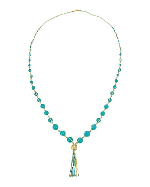 Chan Luu | Blue Necklace | Lyst