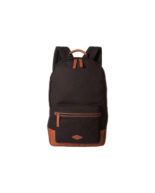Fossil | Black Estate Backpack for Men | Lyst